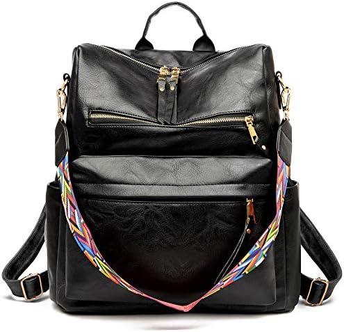 Women s Fashion Backpack Purse Multipurpose Design Convertible Satchel Handbags and Shoulder product image