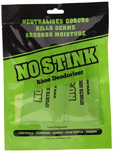 No Stink Desodorizante para Zapatos, Unisex, Verde