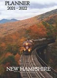 New Hampshire Planner 2021 - 2022: A4 size - Weekly Monthly Yearly Planner - 2 years 2021 & 2022