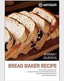 MOOSOO Bread Machine MB30RT-4 Cookbooks,Bread Machine Recipes for Making Bread rt-4