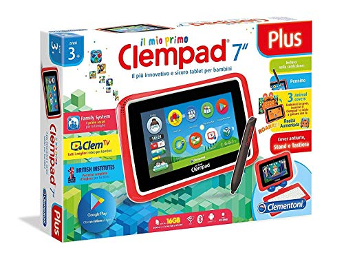 Tablet Clementoni 7' Plus Il mio Primo Clempad 3+