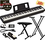 Roland FP-10 Digital Piano Bundle with Adjustable Stand, Bench, Sustain Pedal, Online Lessons, Instructional DVD, and Austin Bazaar Polishing Cloth
