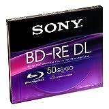 Sony BNE50B wiederbeschreibbare BD-RE 50GB Blu-ray Disc 1-2x Jewelcase (1 Disc)