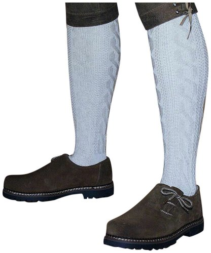 P.S. Schuhmacher Trachtensocken Kniebundstrümpfe für Lederhose Naturfaser! Strümpfe Socken...