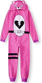 Fortnite Youth Unisex Zippered Cuddle Team Leader Union Suit Costume