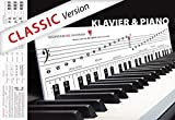 """KLAVIERSPIELEN lernen mit Freude und Spass - """"Klaviatur mit Herz"""" Tastenschablone/Klavierschule: Musiknoten, Tastenorientierung -..."""