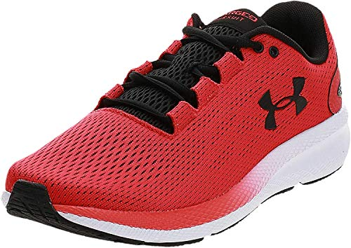 Under Armour Men's Charged Pursuit 2 Running Shoe, Versa Red (601)/White, 10.5 M US