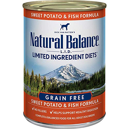 Natural Balance Limited Ingredient Diets Wet Dog Food Fish & Sweet Potato