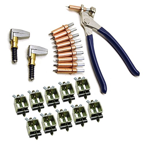AB Tools Intergrips Fiche Technique Colliers de Soudure (Lot de 10 Attaches métalliques avec Rivets temporaires Cleco