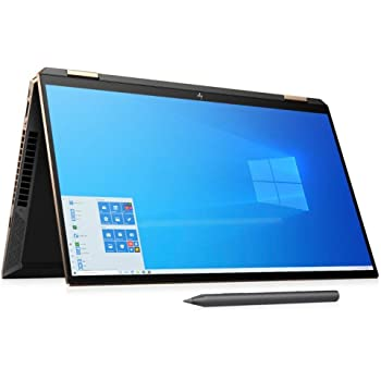 HP Spectre x360 15t Thin Bezel OLED(Intel i7-10750H 6 Cores with GeForce GTX 1650 Ti, 1TB SSD, Precision, WiFi 6, 3 Years McAfee Security, Windows 10 Pro) Nightfall Black