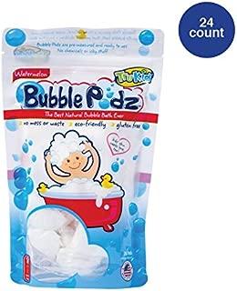 TruKid Bubble Podz, Natural Bubble Bath for senstive skin, Watermelon Scent, 24 count