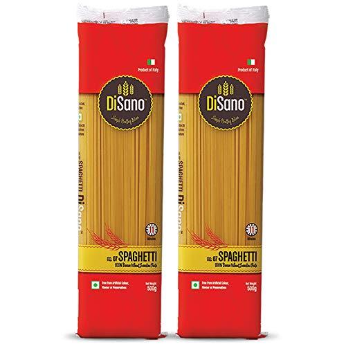 DiSano Durum Wheat Pasta, Spaghetti, 1 kg (2 x 500g)