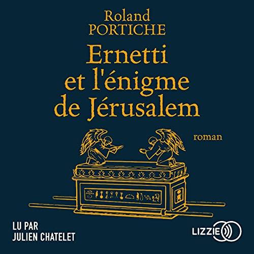 Couverture de Ernetti et l'énigme de Jérusalem