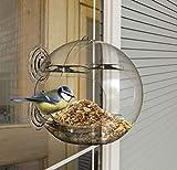 Peckish Window Bird Feeder, Natural