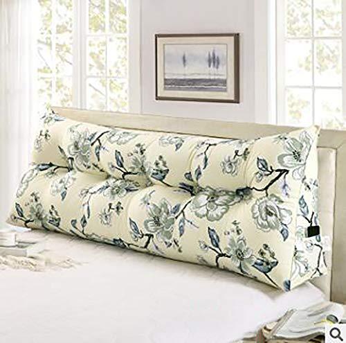 LYRYIH Bed pluche driehoekige wig, uitneembaar sofakussen bed zitkussen designer lende kantoor pads lumbale wervelkolom lezen hoofdkussen