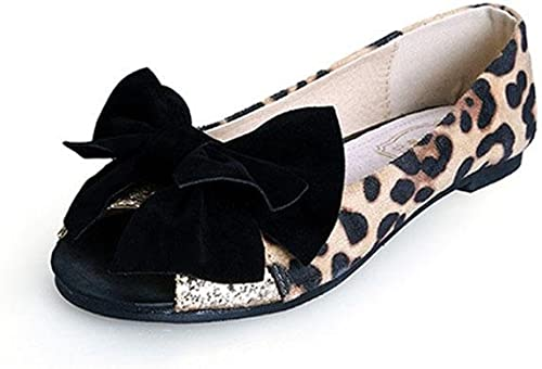 MEILI Srta. Pez boca arco sandalias planas , 1 , US5.5   EU35   UK3.5   CN35