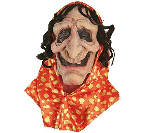 Gen 13 Masque Latex sorcière Gitane Adulte