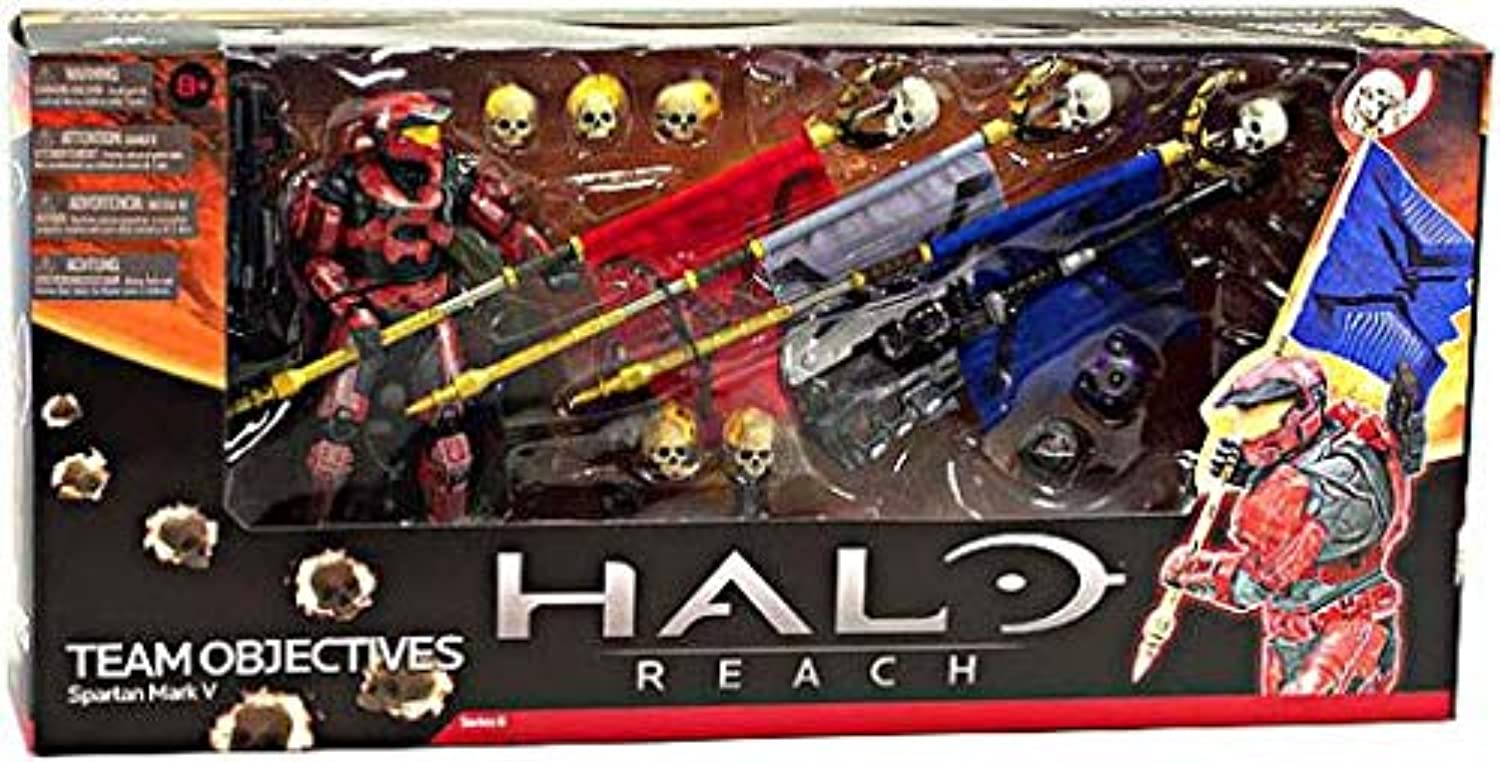Halo Reach Series 6 Team Objective Deluxe Box Set