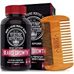 Viking Revolution Men's Beard Growth Vitamin Supplement Tablets - Potent Pills for Maximum Facial Hair Growth for Men… 2