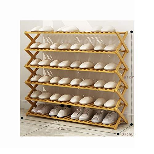 WDDDJF Schoenenrek Opslag Meerdere lagen Stofdicht Klein Kast Bij De Deur Slaapzaal Opslag Artifact Eenvoudige Economie Huishoudelijke Opvouwbaar