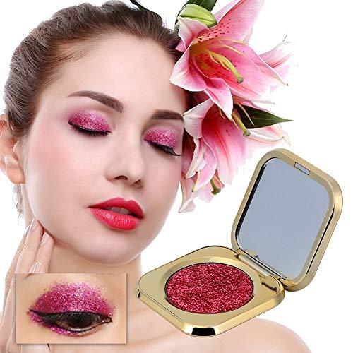 Ombre à paupières avec perle de six couleurs, palette de fard à paupières pour le maquillage, palette de fard à paupières imperméable multicolore, maquillage de longue durée(02#)