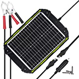 Sun Energise Waterproof 12V 20W Solar Battery Charger Pro - Built-in MPPT Charge Controller + 3-Stages Charging - 20 Watts Solar...