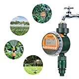 FIXKIT digitalem Bewässerungsprogramm Bewässerungsuhr mit wasserdichtem Schutzdeckel (IP67) Garten...