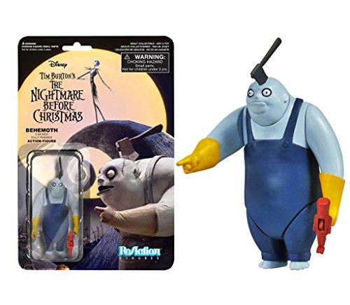 Disney Behemoth: Funko x Super 7 x Figura de acción de la pesadilla antes de la Navidad + 1 paquete de cartas clásicas [38656]