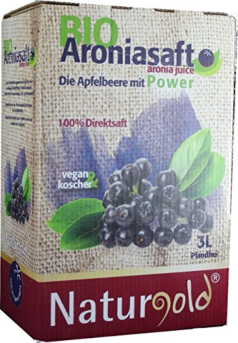 Bio Aroniasaft Direktsaft 3L Bag in Box 2x3L