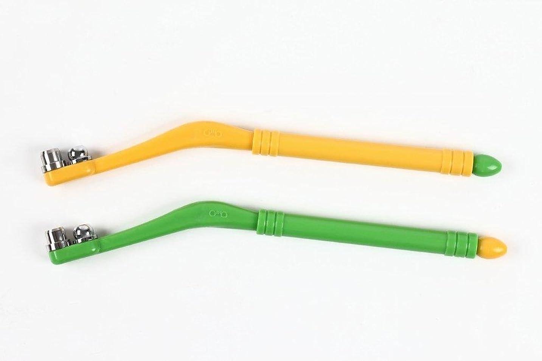 珍味熟達中世のオート(OHTO) くるりんぼ 角質とり 緑