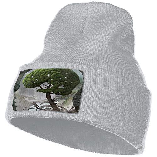 AEMAPE Unisex Beanie Hat Tree Brain Knit Hat Cap Skull Cap