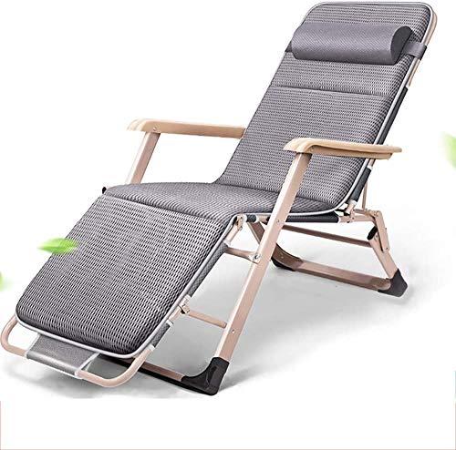Liegen, Außen Strand-Sonnenliegen Schwerelosigkeit Stühle, Klappstühle Gartenstühle Büro Mittagspause tragbarer...