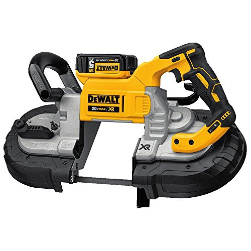 DEWALT 20V MAX Portable Band Saw Kit, Deep Cut (DCS374P2)