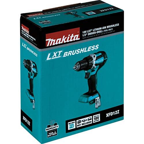 Makita XFD12Z 18V LXT Lithium-Ion Brushless Cordless 1/2