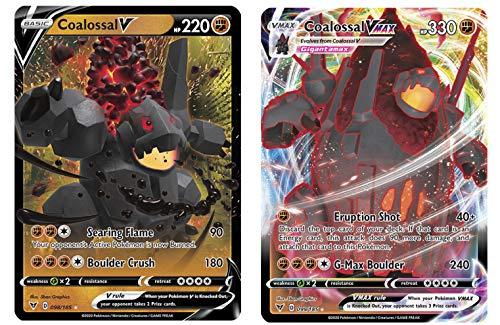 Pokemon Vmax Card Set - Coalossal V…