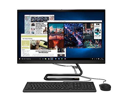 Lenovo IdeaCentre AIO 3 - Ordenador de Sobremesa Todo en uno (Pantalla de 27' FullHD,Procesador Intel Core i5-10400T,512GB SSD,RAM 8 GB,Sin Sistema Operativo) Ratón y Teclado QWERTY Español USB, Negro