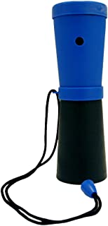 Storus SuperHorn-Breath Powered Horn For Safety, Sports, Parties, Camping And More, Blue And Black, 6.75 Inches Long 1 pc
