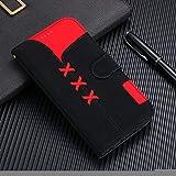 GHC Fundas & Covers para iPhone X XR XS MAX, Cute tirón de la Carpeta del teléfono para el iPhone 6 7 8 6S Plus (Color : Negro, Material : For 6 Plus 6S Plus)