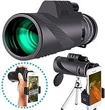 تلسکوپ تک چشمی 40X60 با دارنده گوشی هوشمند