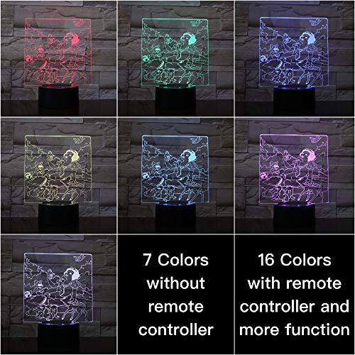Rompecabezas de Control del Sensor táctil Que Cambia de Color Lámpara de Mesa de luz Nocturna para Dormitorio Infantil Ma Yali
