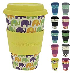 Bamboo travel cup from Amazon|neveralonemom.com