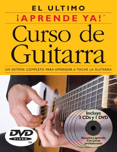 Aprende Ya! Curso De Guitarra: 3 Books/3 Cds/1 DVD Boxed Set