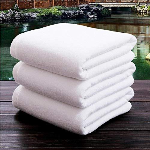 Toalla blanca súper suave Salón de belleza BarberShop u Hotel Toalla de algodón Toalla de baño para el hogar Muchos tamaños disponibles | toallas salón de belleza | toalla blanca | toalla de baño