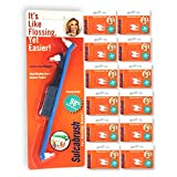 Sulcabrush Pocket Pack of Manual Toothbrush with Handle and 3 Tips —...