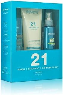 Salerm Cosmetics Spray Express Champú y 21 Finish - 550 ml