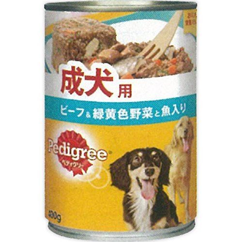 マース ジャパン ペディグリー(Pedigree)『成犬用 旨みビーフ&緑黄色野菜と魚入り』