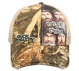 Duck Commander Duck Dynasty Realtree Max-4 Camo Go Beard or Go Home Mesh Hat