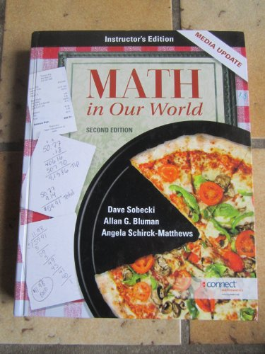 Math in Our World:Media Update: INSTRUCTOR'S EDITION
