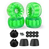 IWONDER Cloud Wheel Discovery 105mm/120mm for Exway Flex/Wave(36 Teeth) Boards Electric Skateboard Wheels and Pulley Conversion Kit