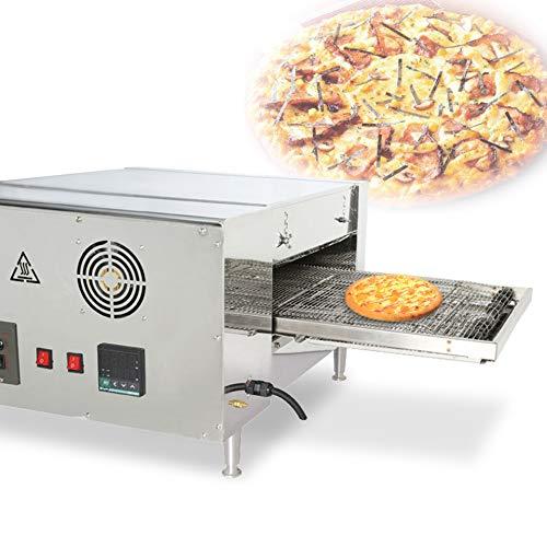MXBAOHENG Crawler Pizzaofen Kette Pizzaofen Elektrischer Gewerbe Pizzaofen Digitalanzeige Automatischer Backofen